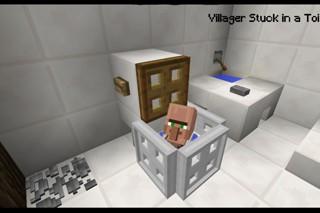 майнкрафт как сделать туалет #3