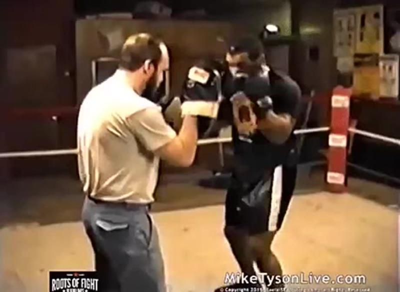 Тренировка Майка Тайсона