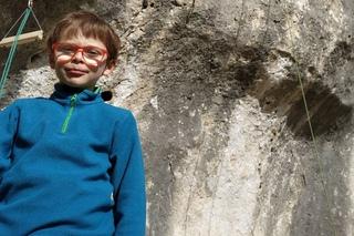 8-летний француз установил новый мировой рекорд в скалолазании, пройдя маршрут сложности 8а+