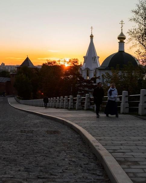 Хорошего вечера, Нижний 🧡#фото@typical_nn...