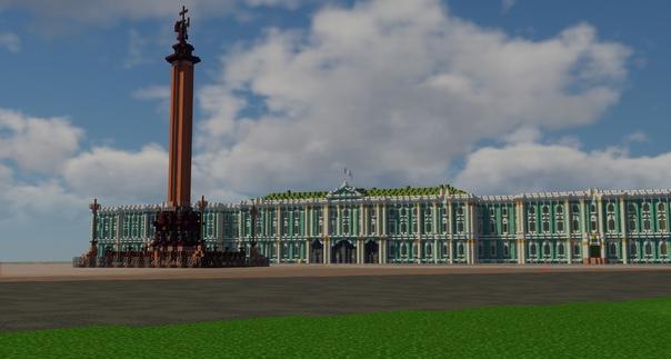 Игроки Minecraft создают Санкт-Петербург в масштаб...