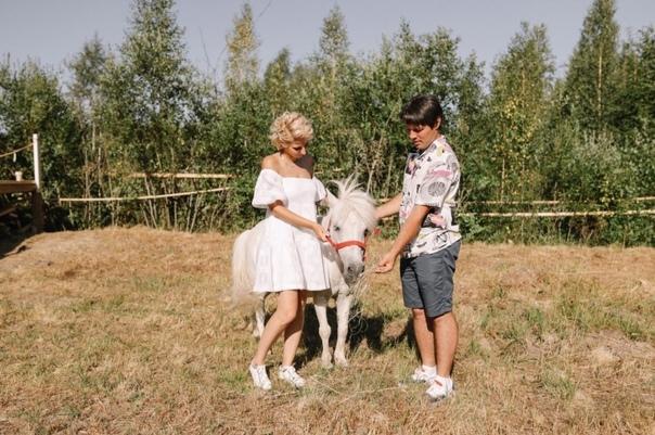 Молодожёны Юлия и Виталий спасли слепого жеребёнка, выкуп...