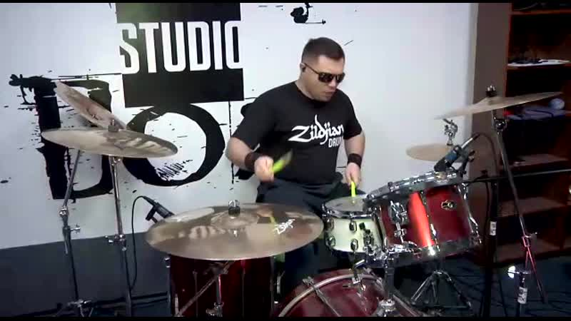 The Trooper cover drums 🥁