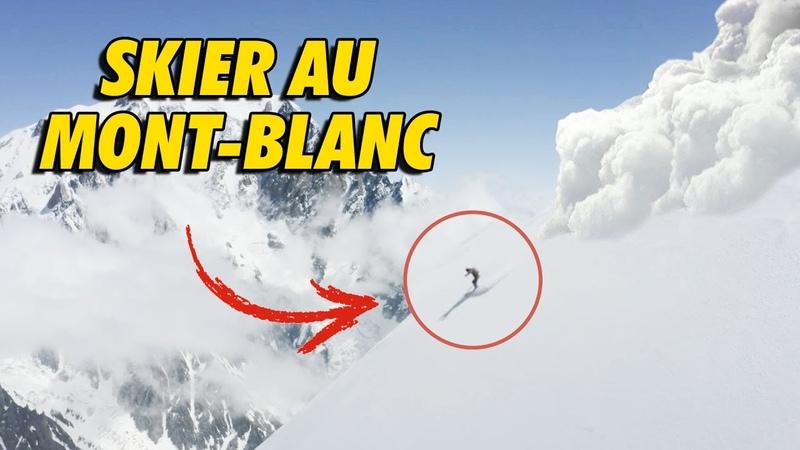 Ski de pente ULTRA RAIDE au Mont Blanc avec Léo Slemett et Vivian Bruchez