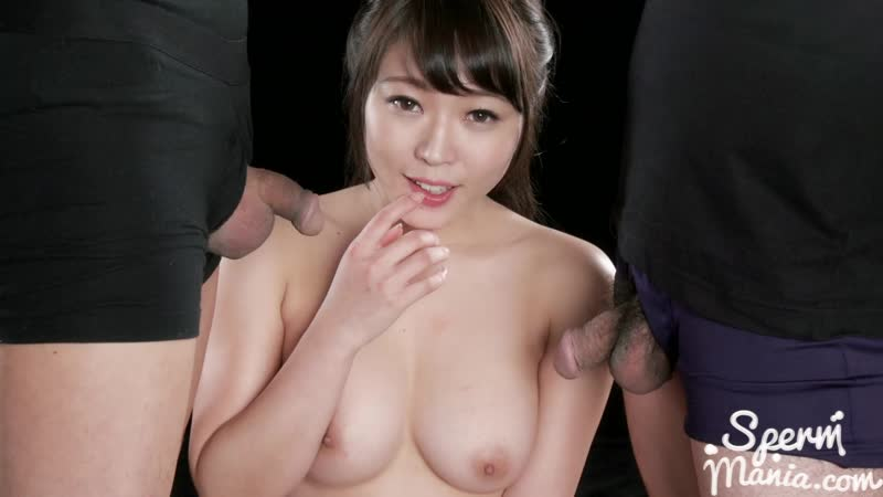 Yui Kawagoes Blowjob with Her Cum Filled Mouth Uncensored, Blowjob, Bukkake,