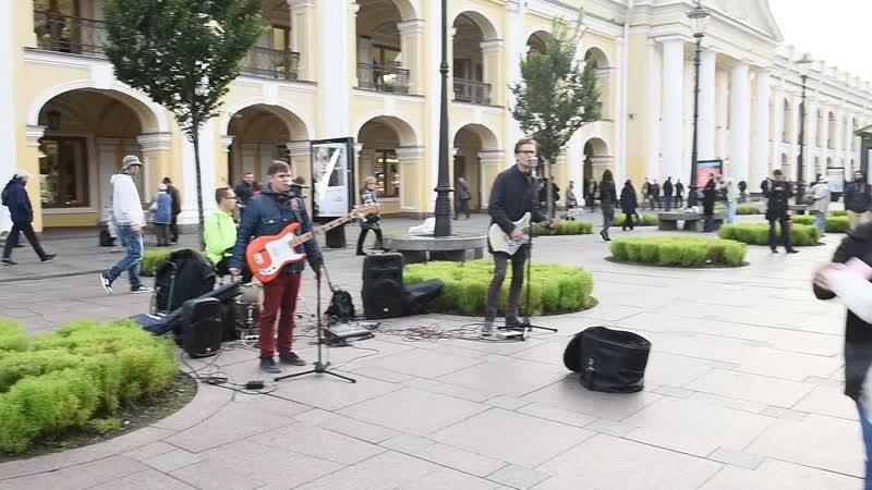 ВИА ЛенТвист Мы любим буги вуги ЛЕНТВИСТ Невский проспект метро гостиный двор