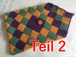 Tabletcase - Entrelac Part 2 - Veronika Hug