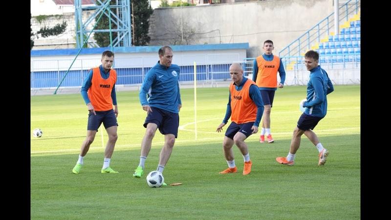 ФК Севастополь приступил к тренировкам после снятия ограничений по COVID 19