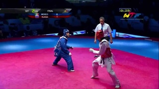 [Final Male] MEXICO vs RUSSIA 2014 WTF WORLD CUP TAEKWONDO TEAM CHAMPIONSHIPS