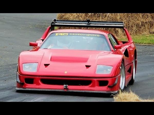 Ferrari F40 with Lexus V8 TwinTurbo Engine 750Hp 1200Kg LM Replica Monster