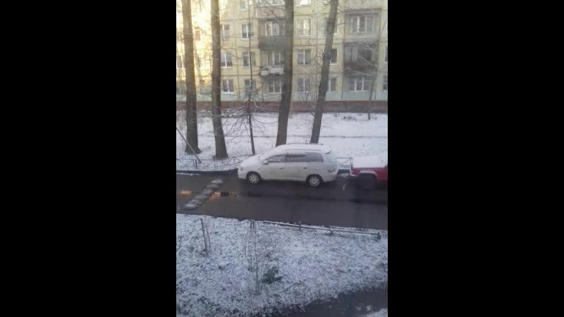 В Питере опять зима