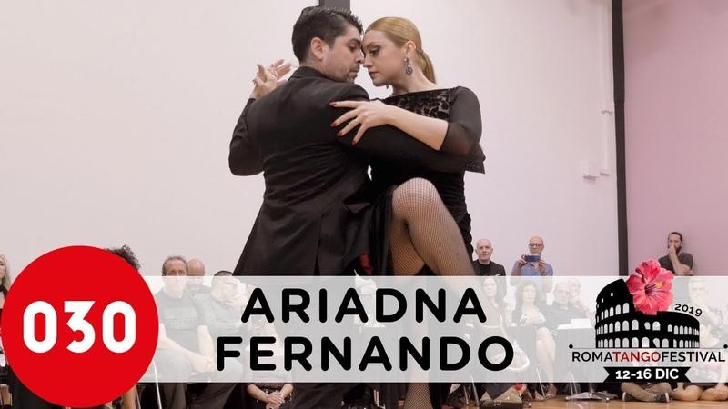 Ariadna Naveira and Fernando Sanchez Gallo ciego Rome 2019 ariadnayfernando