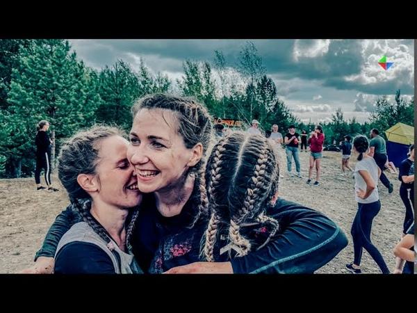 Женская команда противопожарной службы Лесного заняла первое место в экстремальной гонке «Напролом»