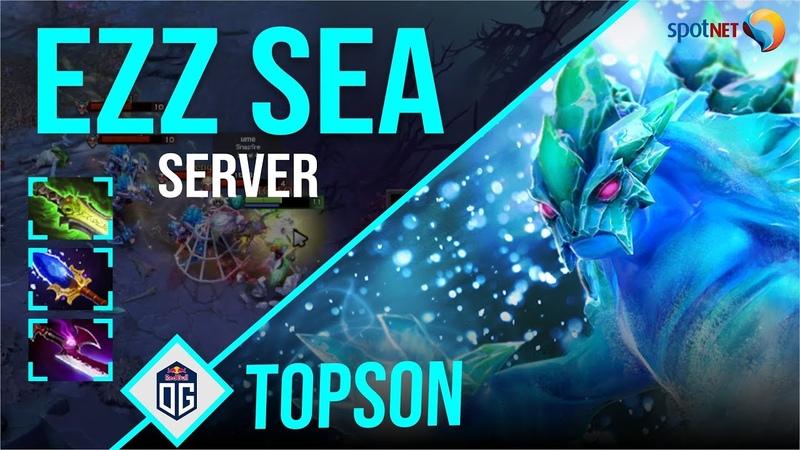 Topson Morphling EZZ SEA Server Dota 2 Pro Players Gameplay Spotnet Dota 2
