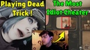 Playing Dead Trick Works ! | Even With Cheats He Stills Noob - Rainbow Six Siege