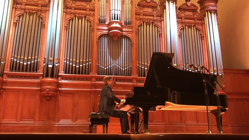 Scarlatti Sonata K32 D-moll (Aria).Dmitry Masleev. Bis 27.01.18