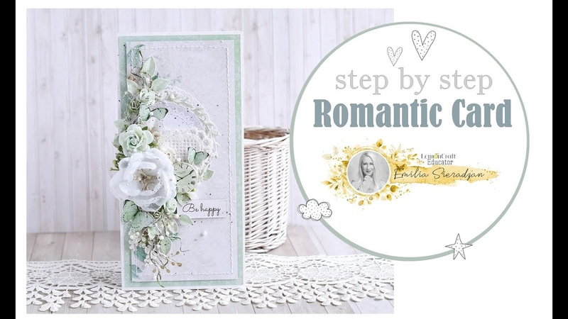 How to make a romantic card step by step Lemoncraft Educator