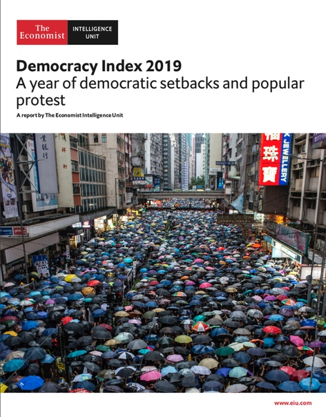 the economist intelligence unit democracy index 19 2020