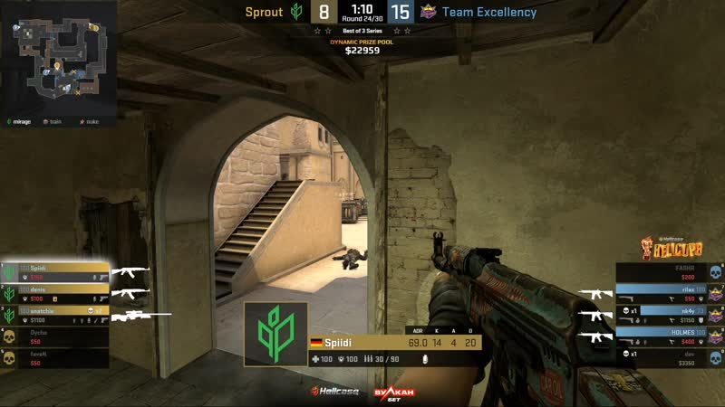 Sprout vs Team Excellency Game 1