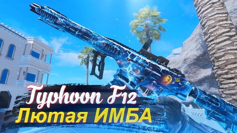 TYPHOON F12 CUSTOM - ЛЮТАЯ ИМБА НА РМ в WARFACE