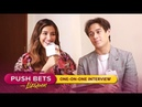 Liza Soberano at Enrique Gil sa One-On-One Interview | PUSH Bets