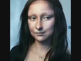 Мейкап Мона Лиза (Mona Lisa) от Yuya Mika