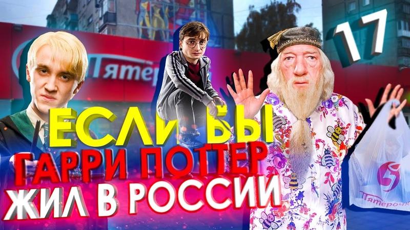 Если бы Гарри Поттер жил в России 17 [Переозвучка, смешная озвучка, пародия]