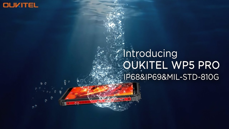 Introducing Oukitel WP5 Pro Rugged Phone in 10s