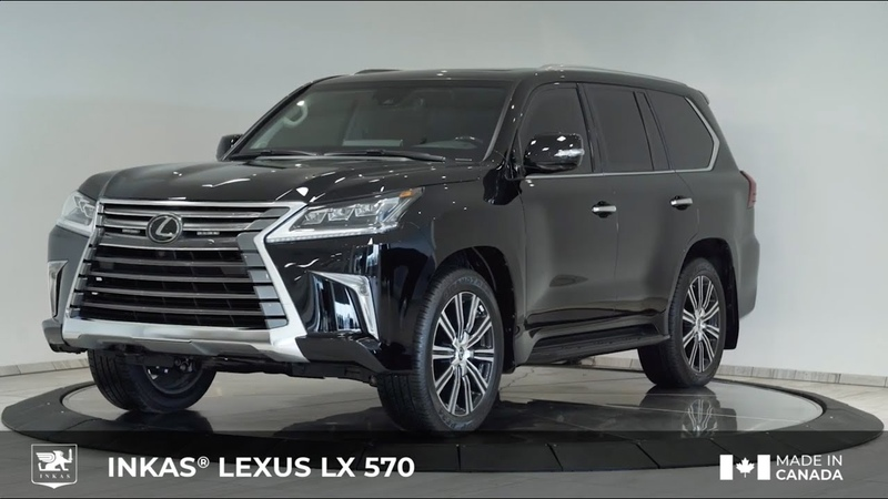 INKAS® Armored Lexus LX 570
