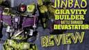 Jinbao KO Oversized Gravity Builder Devastator Battle Damaged Version review