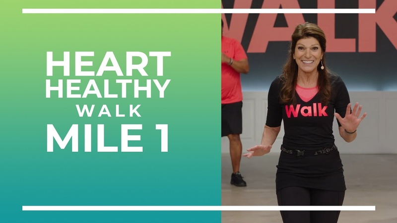 Heart Healthy 1 Mile Walk Walk at Home