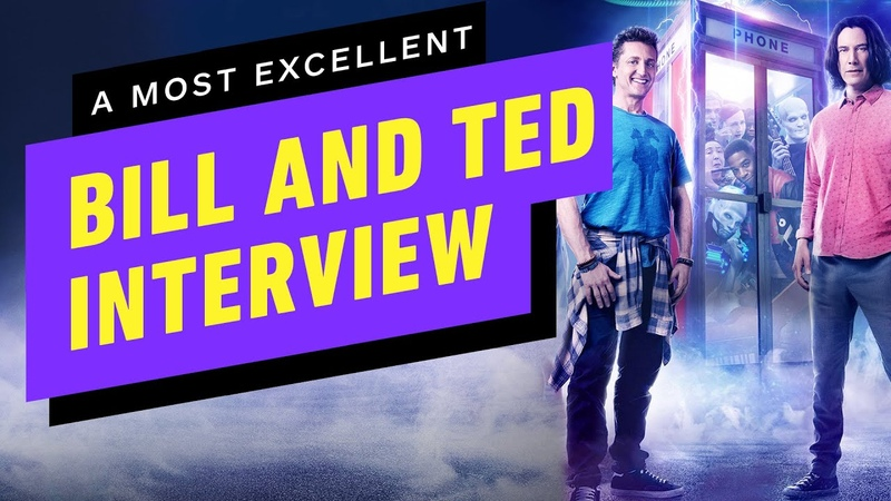 Excellent Let's Talk Bill and Ted With Keanu Reeves and Alex Winter