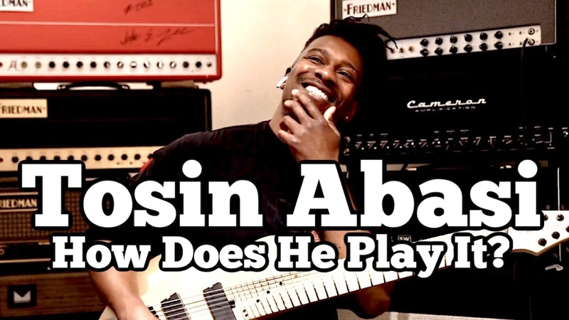 TOSIN ABASI - Rock's New Guitar Hero: Bringing Guitar into the Modern Age