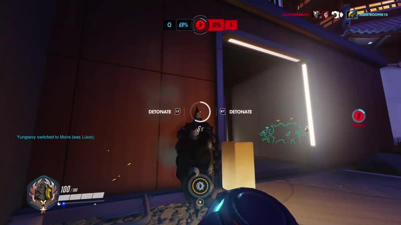 Sometimes you just gotta wait out lucio's ult