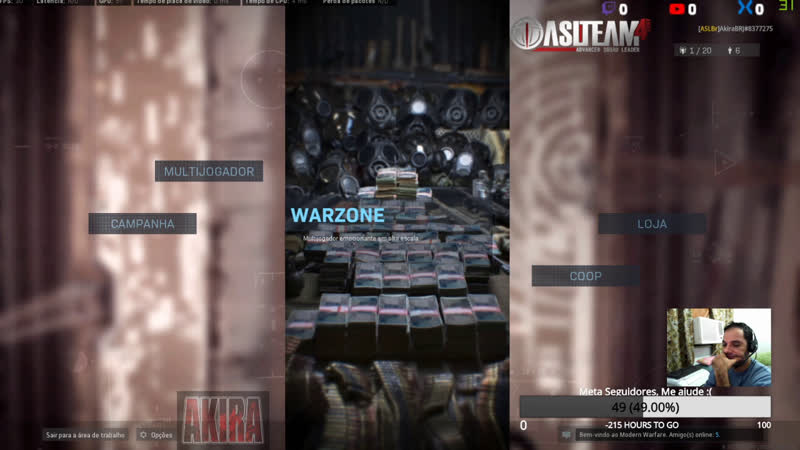 CoD Warfare Warzone Squad ASL Team Jogatina Casual ASLTeam