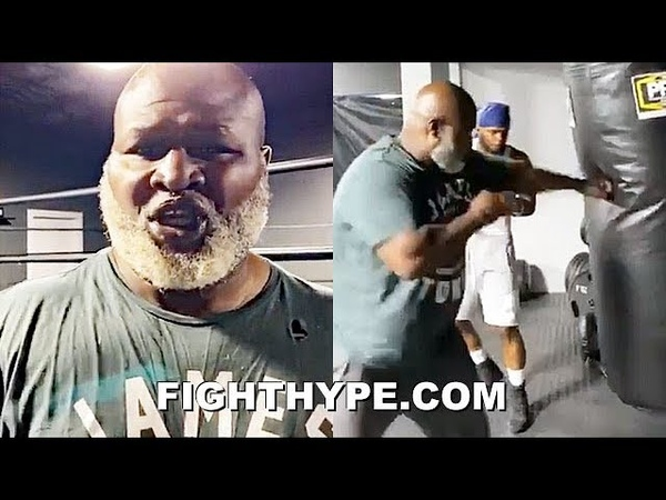 LIGHTS OUT EVERY DAY JAMES TONEY AMPED UP GIVES TOUR OF NEW GYM WITH BUDDY MCGIRT
