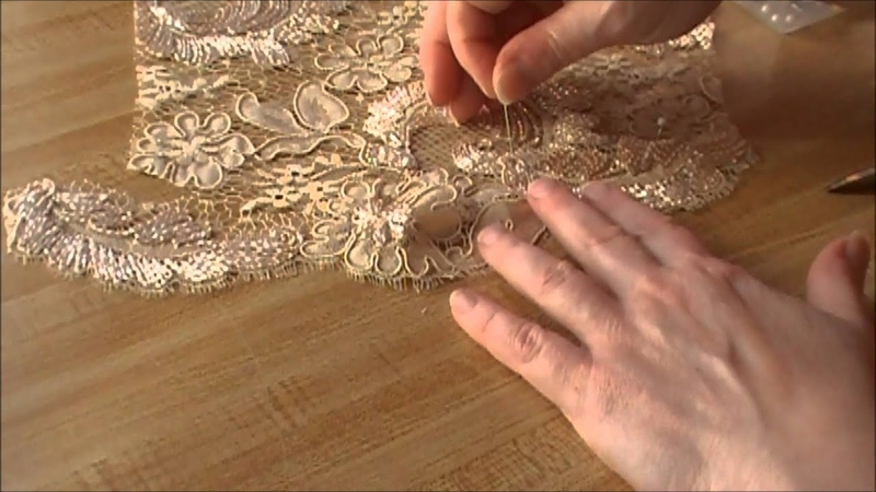 Haute couture lacemaking