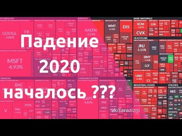 Падение 2020 началось ли