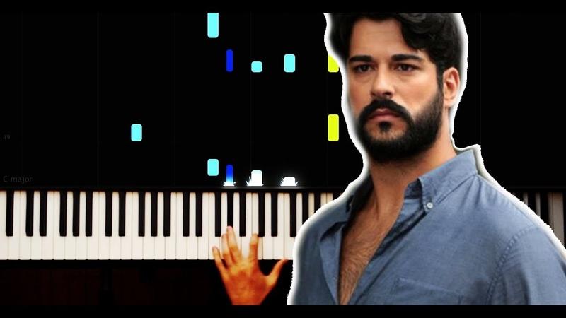 Kara Sevda Müzikleri Gözlerinin Buğusu Piano Tutorial by VN