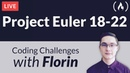 Project Euler Challenges 18-22 - Coding Challenges with Florin