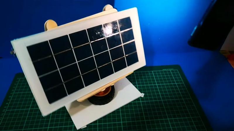 GÜNEŞ TAKİP DEVRESİ BASİT TEK EKSENLİ GÜNEŞ TAKİP DEVRESİ Solar Tracker