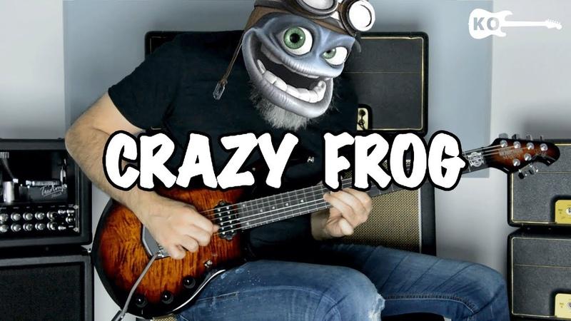 Crazy Frog Axel F Metal Guitar Cover by Kfir Ochaion