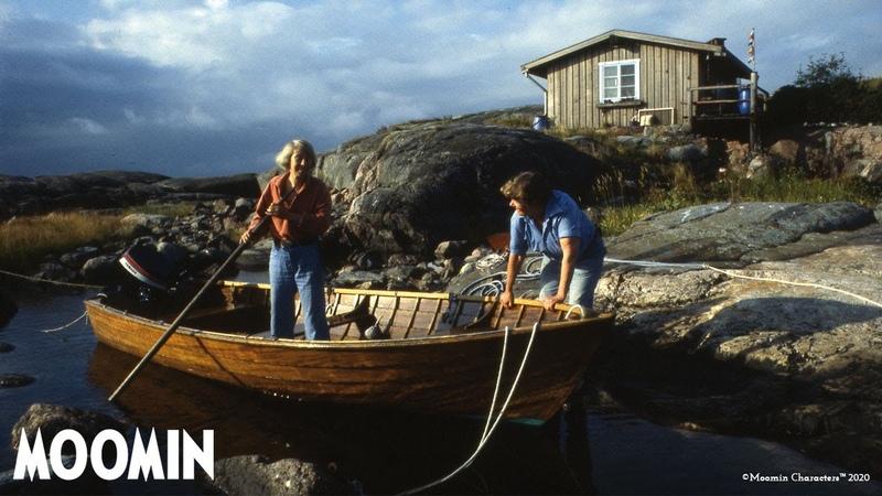 Klovharun, Tove Janssons summer paradise inspired the Moomin stories