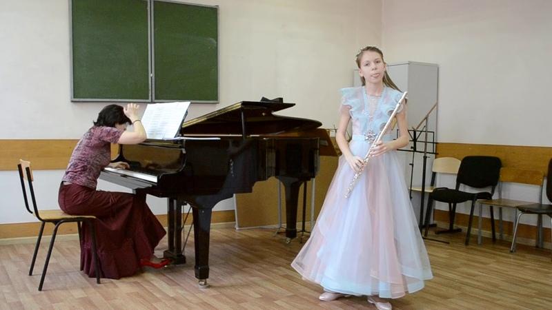 П И Чайковский Баркарола Исп Евангелина Махринова флейта Ольга Бер ф но
