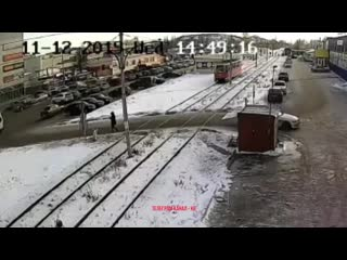 В Салавате трамвай сбил пешехода.