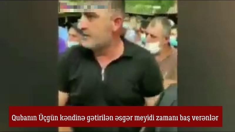 Niyə məmurun oğlu gedib şəhid olmur Qubaya əsgər meyidi gəldi kənd camaatı etiraz etdi