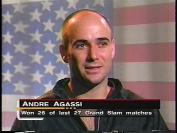 Agassi vs Kafelnikov 2000 Australian Open Final better video quality