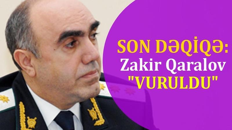 SON DƏQİQƏ Baş prokuror Zakir Qaralov vəzifədən gedir