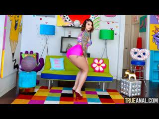 Ivy Lebelle - Ivy's Anal Stuffing - Hardcore Sex Big Natural Tit