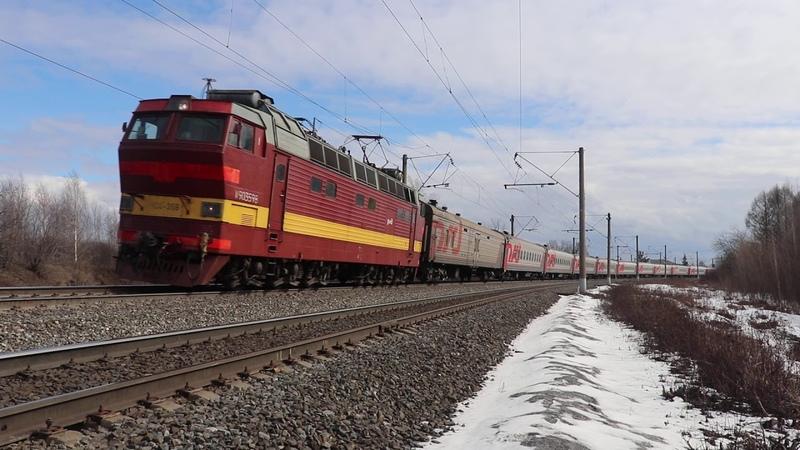 Старый добрый Чех с пассажирским поездом